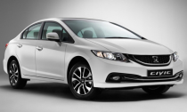 Цены на новый Honda Civic 4D 2013 в России